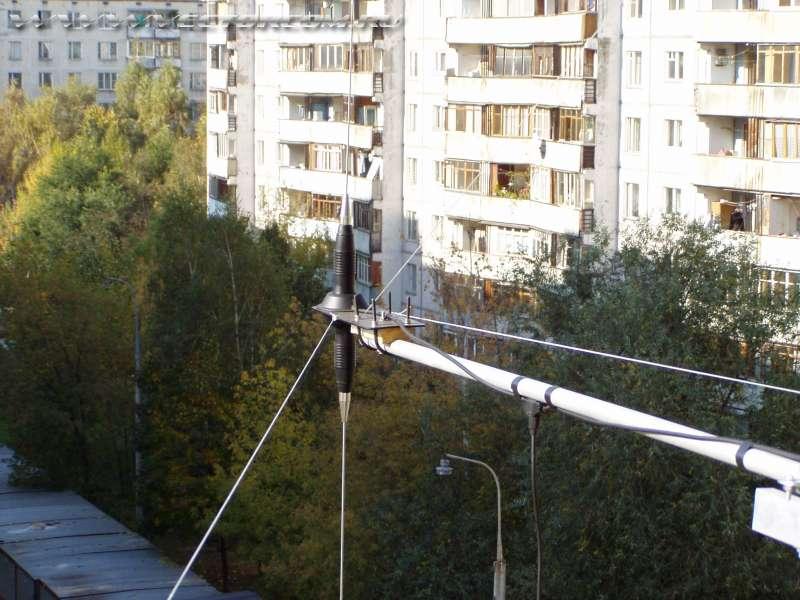 Ба - 27, антенна балконная, 27 мгц.